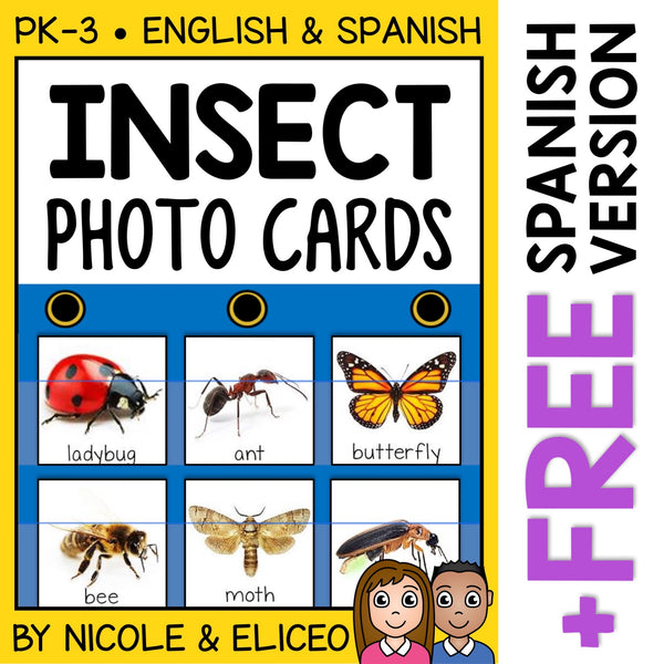 Insect Pocket Chart Center