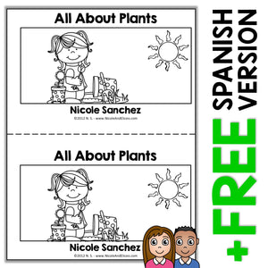 Plants Book Activity