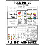 Healthy Foods Sort Activities