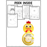 Chicken Life Cycle Craft Activity