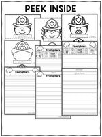 Firefighter Writing Craft Activity