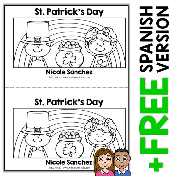St Patricks Day Book Activity