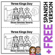 Load image into Gallery viewer, Three Kings Day Book Activity