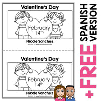 Valentines Day Book Activity
