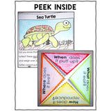 Ocean Animal Close Reading Interactive Notebook
