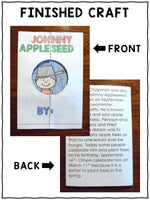 Johnny Appleseed Craft Activity