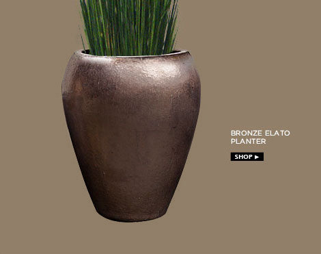 Bronze Elato Planter