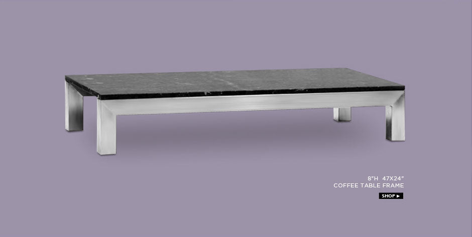 Chi stainless steel table frame