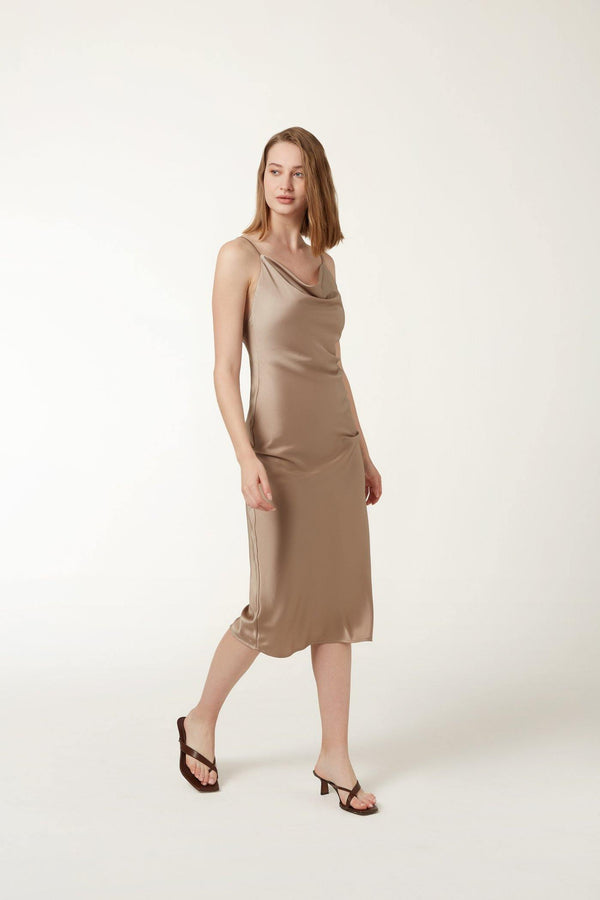 PAIGE Dress - Taupe