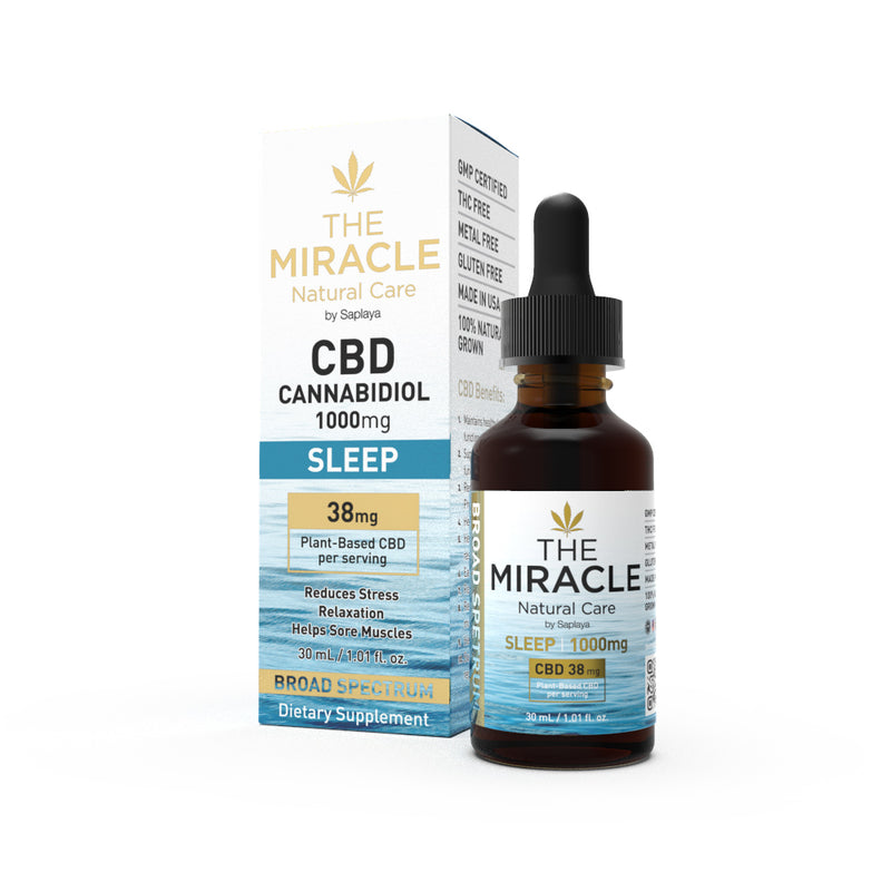 CBD Broad Spectrum Tincture Drops 1000mg Counter Display
