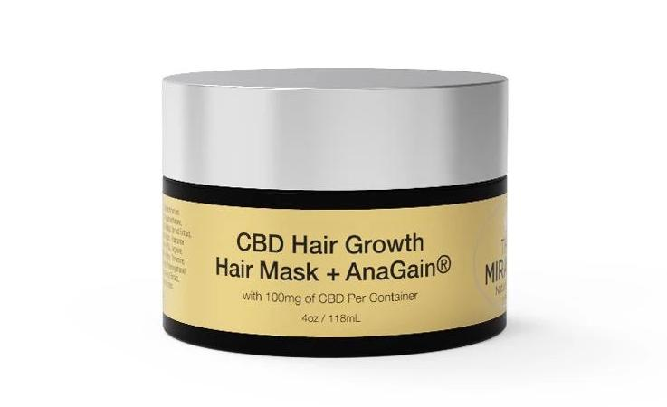 CBD [100mg] Hair Mask + Anagain_ 4oz / 118ml