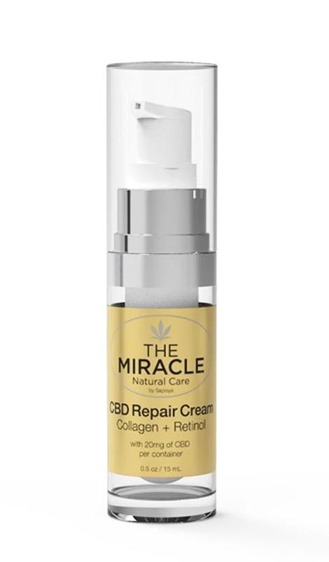 CBD [20mg]  Repair Cream with Collagen & Retinol | 0.5oz / 15ml