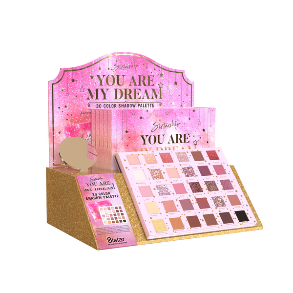[You Are My Dream] 30 Color Eyeshadow Palette | Paper Display