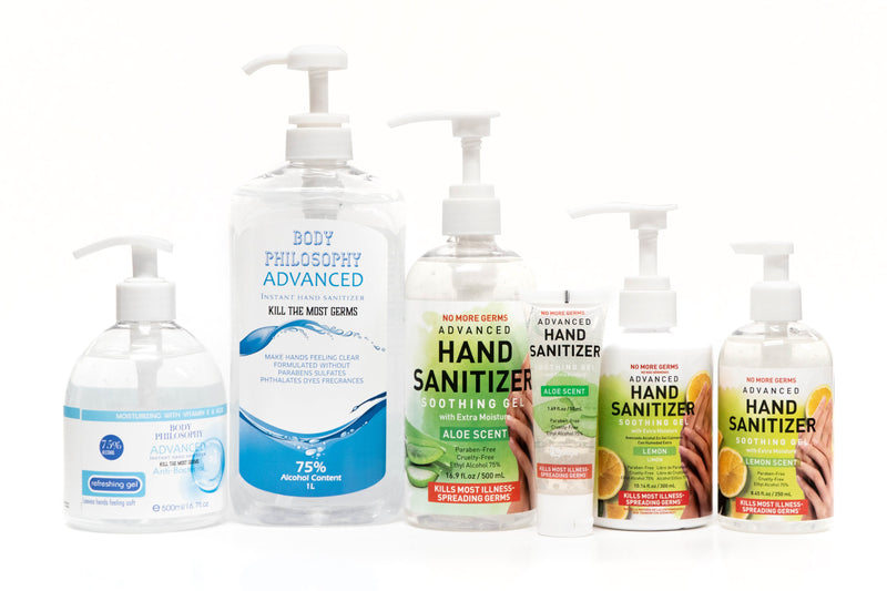 Hand Sanitizer | Lemon [12 pack] 10.14 fl. oz. / 300ml