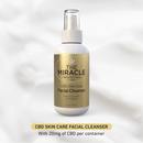 CBD [20mg] Skin Care Facial Cleanser_ 4oz / 118ml
