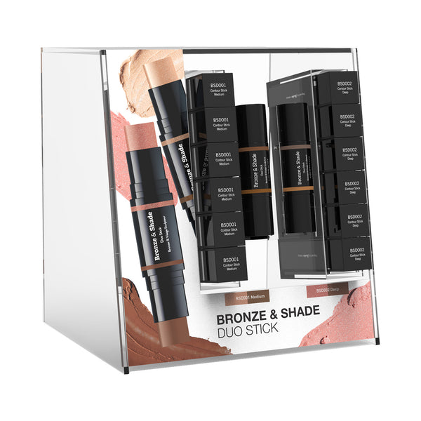 Bronze & Shade Duo Stick Acrylic Display