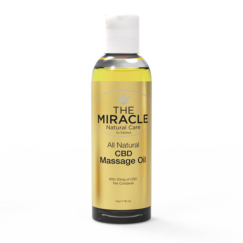 CBD [20mg] All Natural Massage Oil_4oz / 118ml