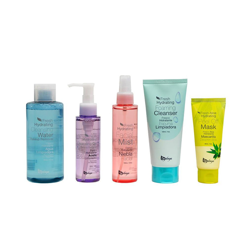 Saplaya Cleansing Series Set