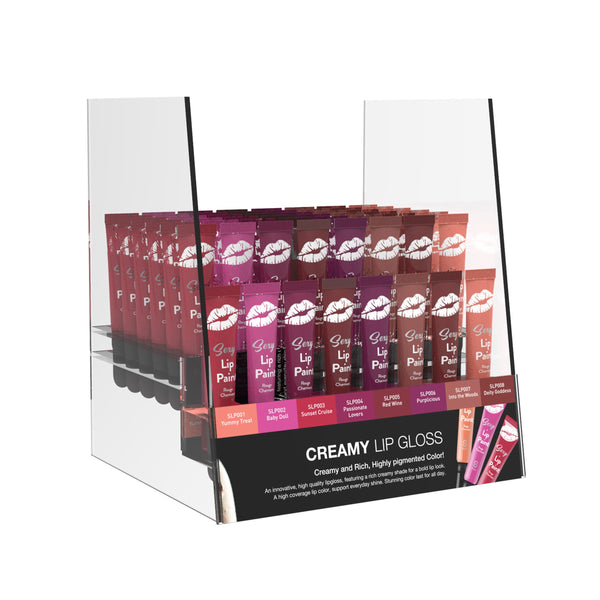 Sexy Lip Paint Cream | Acrylic Display