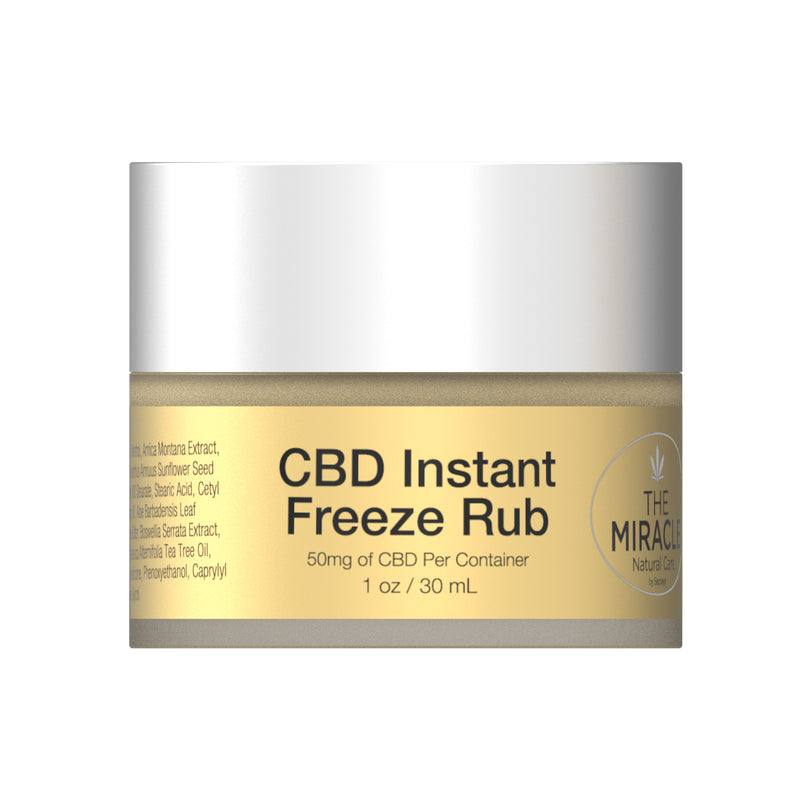 NEW] CBD Instant Freeze Rub 50mg