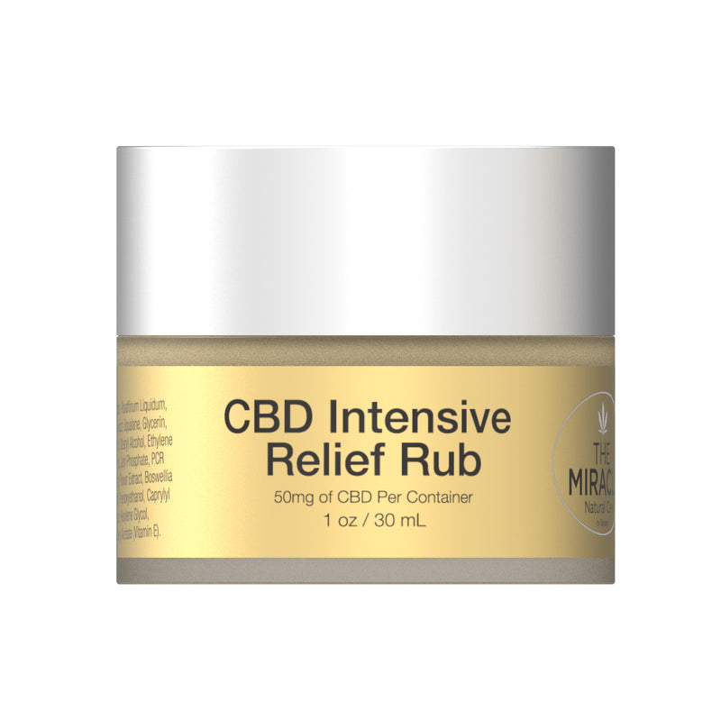 NEW] CBD Intensive Relief Rub 50mg