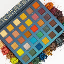 [The Queen]  30 Color Eyeshadow Palette | Paper Display