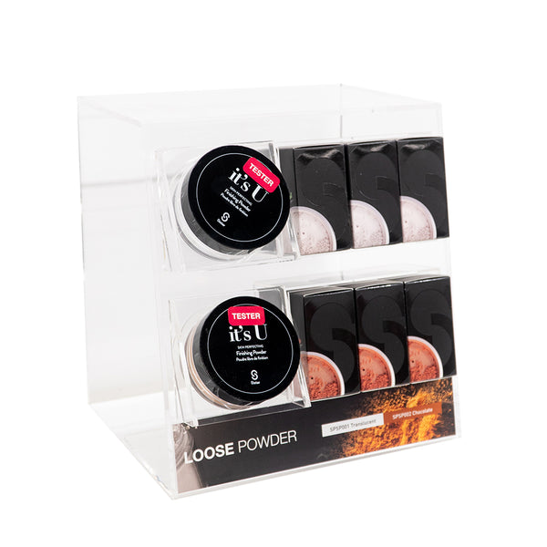 It's U Skin Perfecting Loose Setting Powder | Acrylic Display