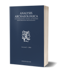 Analysis Archaeologica, volume 2, 2016