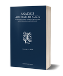 Analysis Archaeologica, volume 4, 2018