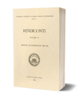 Rendiconti, Vol. VI. Annate Accademiche 1927-1929