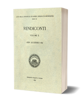 Rendiconti, Vol. X. Anno Accademico 1934