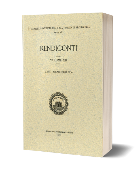 Rendiconti, Vol. XII. Anno Accademico 1936