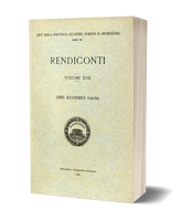 Rendiconti, Vol. XVII. Anno Accademico 1940-1941