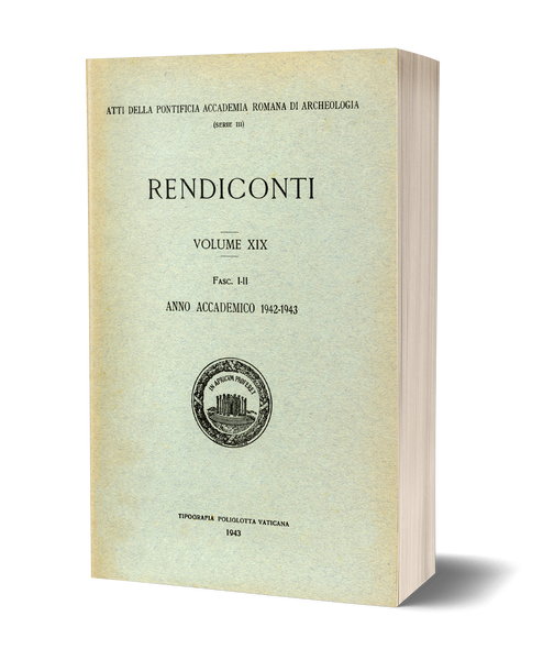 Rendiconti, Vol. XIX. Anno Accademico 1942-1943