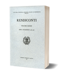 Rendiconti, Vol. XXXIII. Anno Accademico 1960-1961