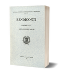 Rendiconti, Vol. XXXV. Anno Accademico 1962-1963