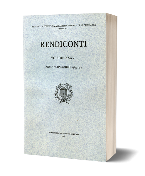 Rendiconti, Vol. XXXVI. Anno 1963-1964