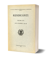 Rendiconti, Vol. LVII. Anno Accademico 1984-1985