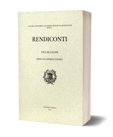 Rendiconti, Vol. LXXXIII. Anno Accademico 2010-2011