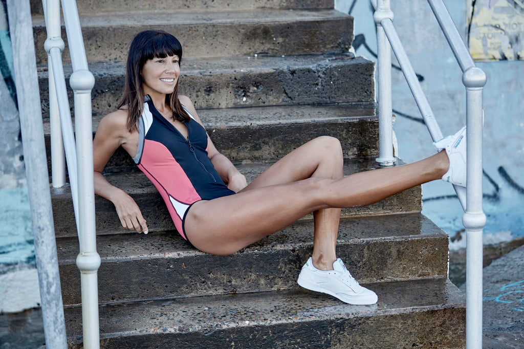 "Nicole Adolphe, fashion stylist. ""What working out every day does for me"""