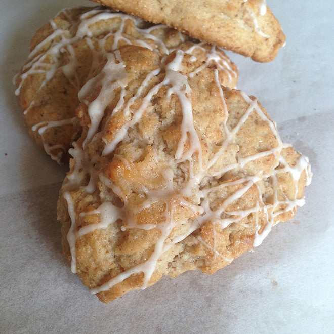 Gluten-free, Vegan Apple Pie Scones