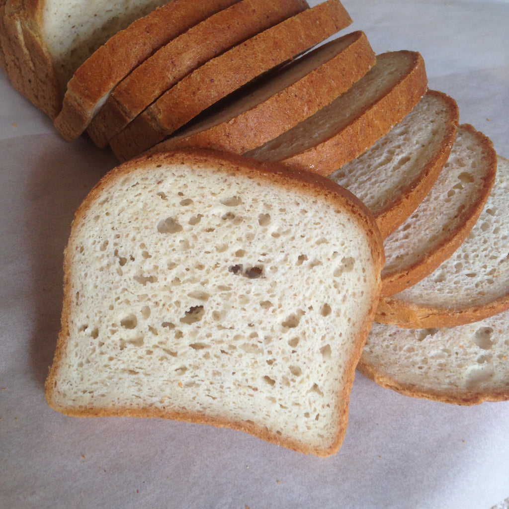 Gluten-free, Vegan Country White Bread