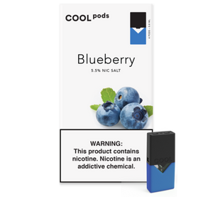 Blueberry COOL PODS™ Pods – 4 unds