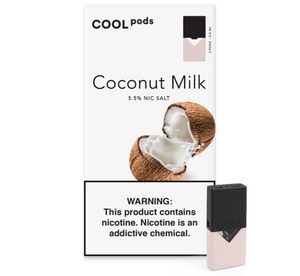 Coconut Milk COOL PODS™ Pods – 4 unds