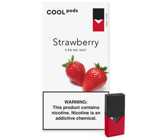 Strawberry COOL PODS™ Pods – 4 unds