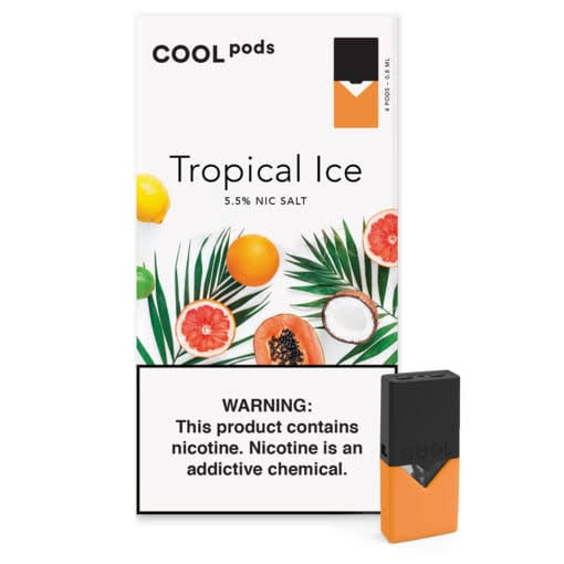 Tropical Ice COOL PODS™ Pods – 4 unds