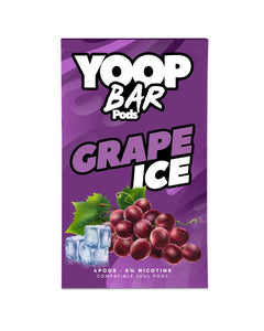 Grape Ice YOOP BAR PODS™ Pods – 4 unds
