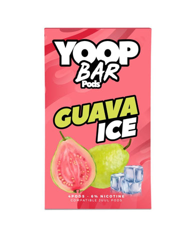 Guava Ice YOOP BAR PODS™ Pods – 4 unds