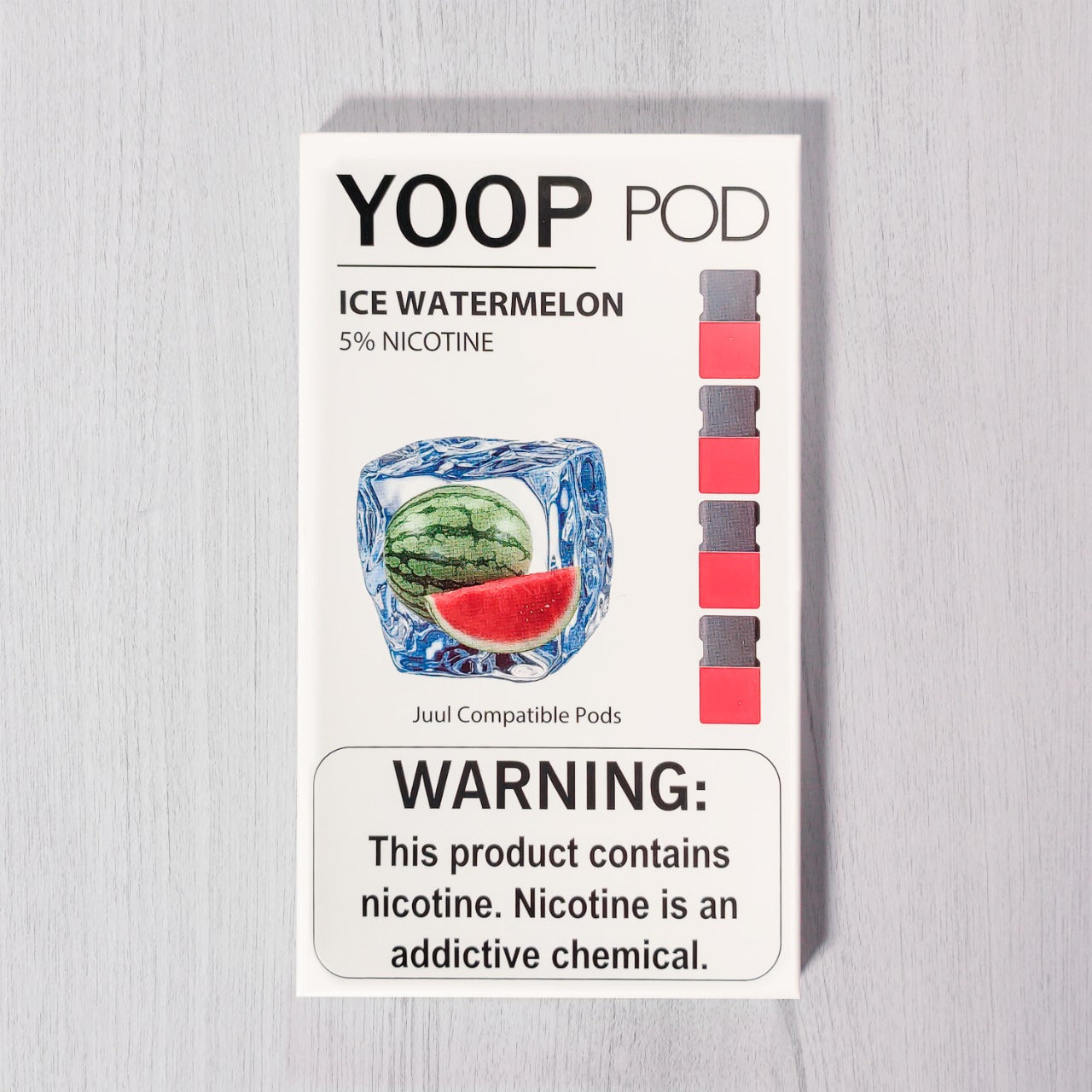 Ice Watermelon YOOP PODS™ Pods – 4 unds
