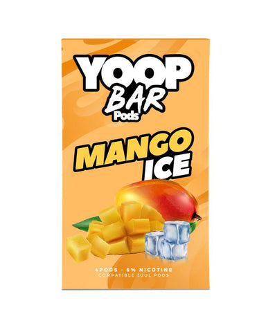 Mango Ice YOOP BAR PODS™ Pods – 4 unds